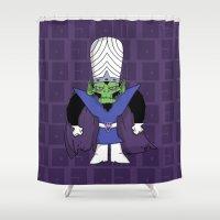jojo Shower Curtains featuring MoJo JoJo  by Twisted Dredz