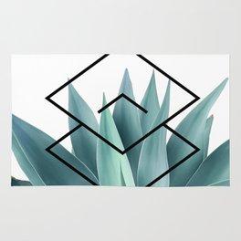 Agave geometrics IV Rug