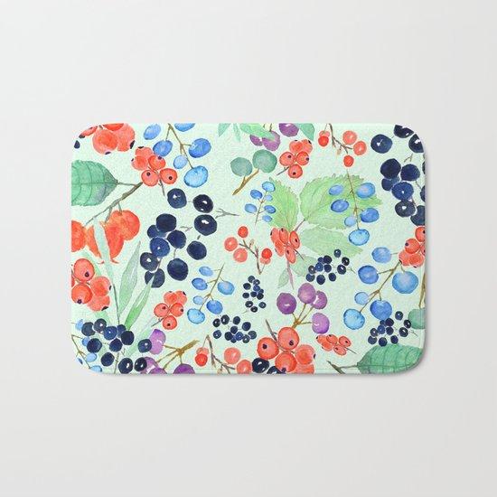 joyful berries Bath Mat