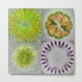 Caudocephalad Imagination Flower  ID:16165-011823-84320 Metal Print