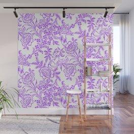 Radiant Orchid Tea Reversed Wall Mural