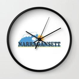Narragansett - Rhode Island. Wall Clock