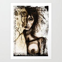 Loona Art Print