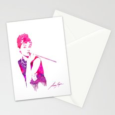 Audrey Stencil Stationery Cards