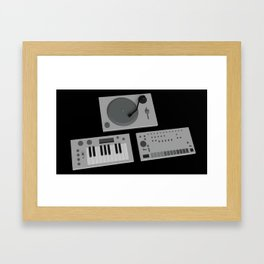 Analog Object(s). Framed Art Print