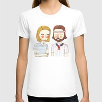 tenenbaums T-shirts featuring Secretly In Love by Nan Lawson