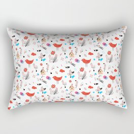 Birdies Rectangular Pillow