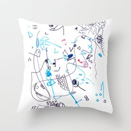 Composizione I Throw Pillow