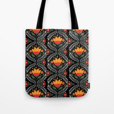 FOLK FLORA Tote Bag