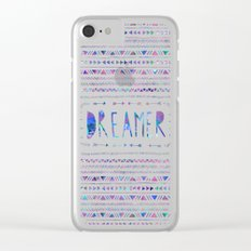 DREAMER Clear iPhone Case