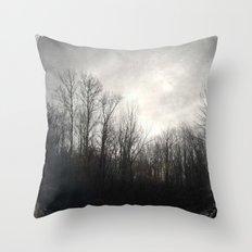 Sun Burnt Throw Pillow