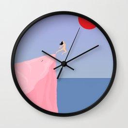 Loss // Gain Wall Clock