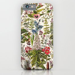 Adolphe Millot - Plantes Medicinales A - French vintage poster iPhone Case