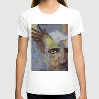 poe T-shirts featuring Poe by Michael Creese