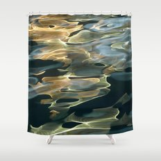 Water / H2O #42 Shower Curtain