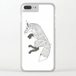 Canis Major Fox Clear iPhone Case