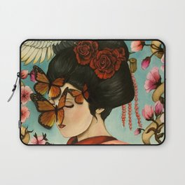 The Exploitation of Butterfly Laptop Sleeve