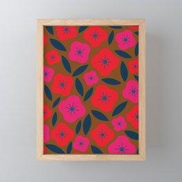 FLORAL_BLOSSOM_002 Framed Mini Art Print