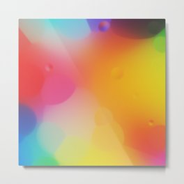 misc fantasy color drops D Metal Print
