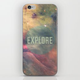 Explore III iPhone Skin