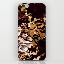 Tropical Blaze Floral Print iPhone Skin