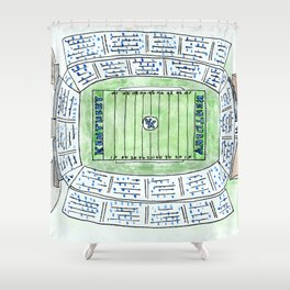 UK, Kentucky Wildcats, Football, Stadium, Lexington Shower Curtain