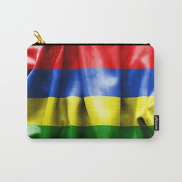 Mauritius Flag Carry-All Pouch