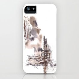 Judgement- 151124  Abstract Watercolour iPhone Case