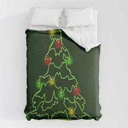 Christmas light Comforters