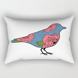Bluebird of Happiness Rectangular Pillow