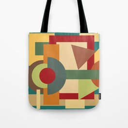 Abstract geometric composition study- Picture Frame Tote Bag