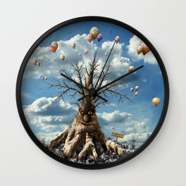 750 years old - happy birthday ! Wall Clock