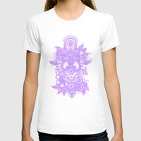 henna T-shirts featuring Purple Henna by haleyivers