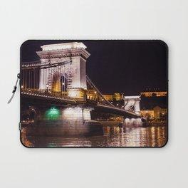 Szechenyi Chain Bridge   Budapest Laptop Sleeve