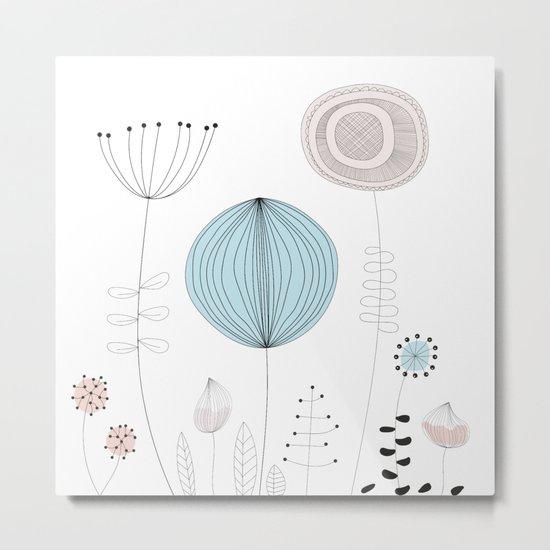 The summer garden Metal Print