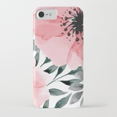 Big Watercolor Flowers iPhone 7 Slim Case