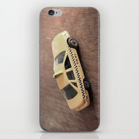 death cab for cutie iPhone & iPod Skins featuring cab by Vin Zzep