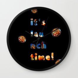 L(a)unch time! Wall Clock