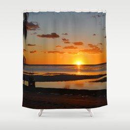 Australian Sanset Shower Curtain