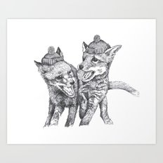 Pierre et Jacques Art Print