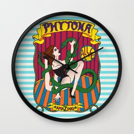 Phytona Wall Clock
