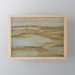 Swamp Land Framed Mini Art Print