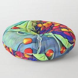 Cherry Picking Floor Pillow