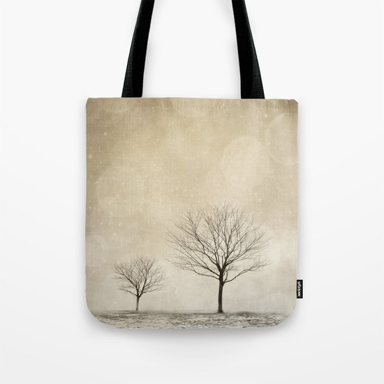 Snow Bokeh Wonderland  Tote Bag