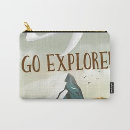 Go Explore! Carry-All Pouch