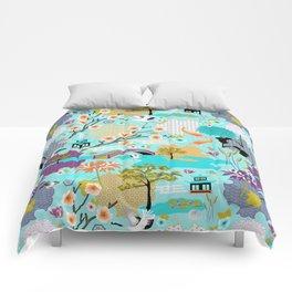 Japanese Garden Comforters
