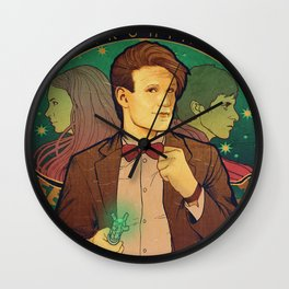 Geronimo! Wall Clock