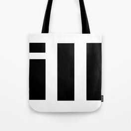 simple is ill BL Tote Bag