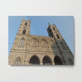 L'Église de Notre Dame de Montréal Metal Print