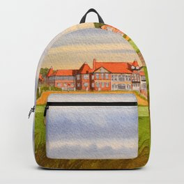 Royal Liverpool Golf Course 18th Hole Backpack